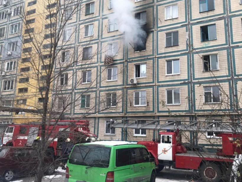 В малосемейке Днепра произошел пожар: огнем уничтожена квартира (ФОТО)