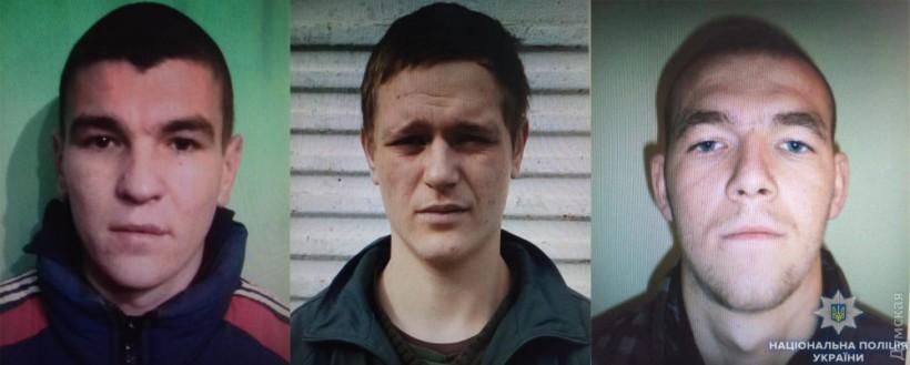 Троица сбежавших из одесской колонии зеков «заработала» себе новые сроки(ФОТО)