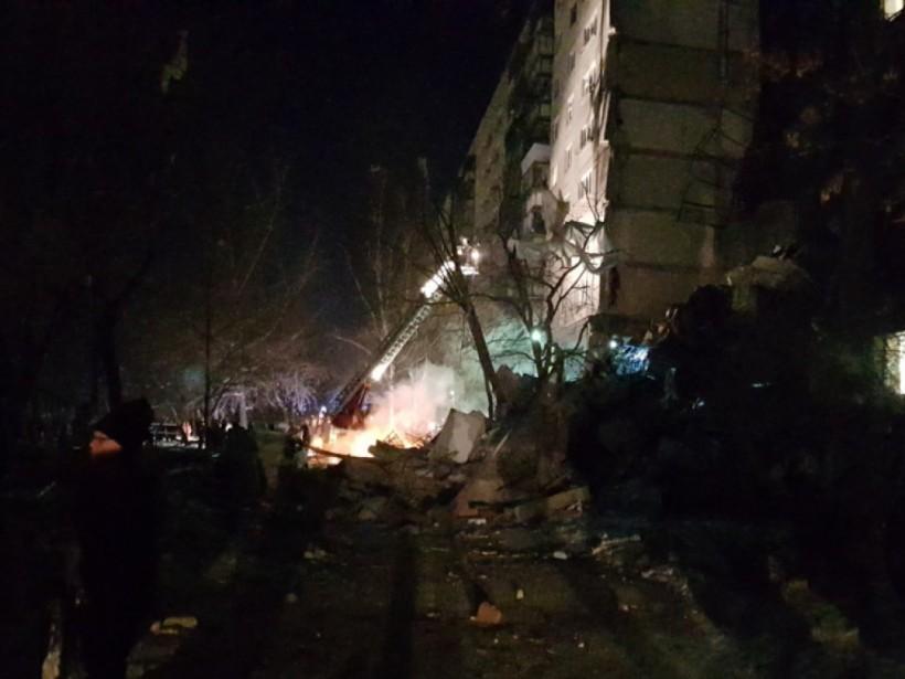 Видео момента взрыва, число погибших возросло— катастрофа вМагнитогорске