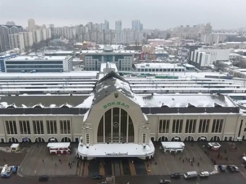 В Киеве «минировали» центральный вокзал: была проведена эвакуации 2 тысяч человек